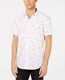 I.N.C. Men's Ditsy-Print Shirt, Created for Macy's