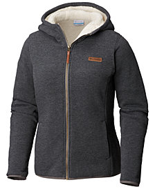 Columbia Winter Wander™ Fleece-Lined Hooded Jacket