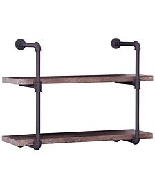 Torin 2-Tier Wall Shelf, Quick Ship