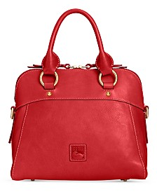 Dooney & Bourke Cameron Medium Florentine Leather Satchel
