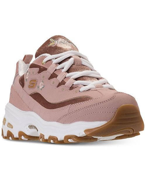 5907ab13c7fb ... Skechers Women s D Lites - Rose Blooms Walking Sneakers from Finish ...