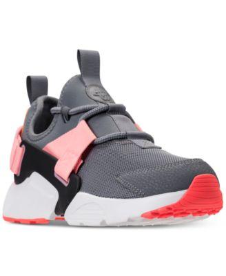Nike Women\u0027s Air Huarache City Low Casual Sneakers from Finish