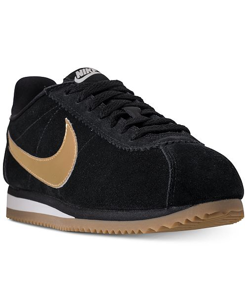 9b87c6f65a4 Nike Women s Classic Cortez SE Casual Sneakers from Finish Line ...