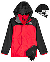 The North Face Big Boys Vortex Hooded Triclimate Jacket, Anders Beanie    Etip Gloves a6472081d8f