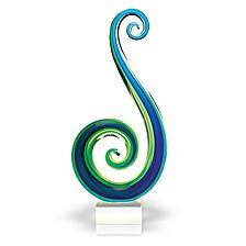 Marina Art Glass Sculpture