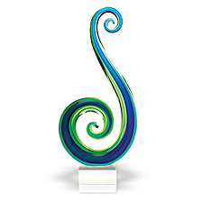 Badash Crystal Marina Art Glass Sculpture