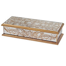 Badash Crystal Manta Gold Keepsake Box