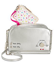 Betsey Johnson A Toast To You Small Crossbody