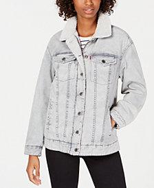 Levi's® Mixed-Media Trucker Jacket