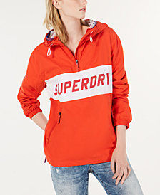 Superdry Half-Zip Hooded Windbreaker