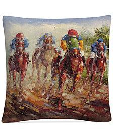 """Rio Kentucky Derby 16"""" x 16"""" Decorative Throw Pillow"""