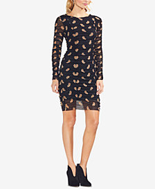 Vince Camuto Paisley-Print Sheath Dress