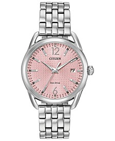 Drive From Citizen Eco-Drive Women's Stainless Steel Bracelet Watch 36mm