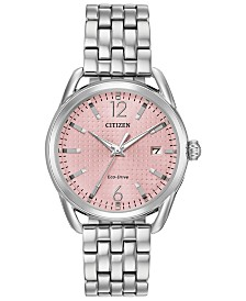 Citizen Drive From Citizen Eco-Drive Women's Stainless Steel Bracelet Watch 36mm