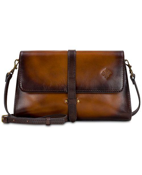 Patricia Nash Tijola Stained Leather Crossbody - Handbags ... 765bc7b2abd4e