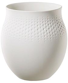 White Perle Vase NO.1