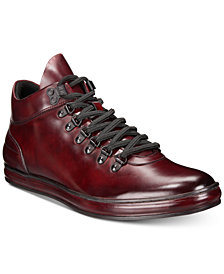 Kenneth Cole Reaction Men's Brand Tour Leather Sneakers