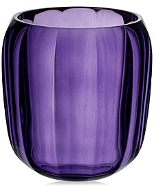 Cozy Gentle Lilac Hurricane Lamp Small Vase