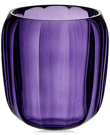 Villeroy & Boch Cozy Gentle Lilac Hurricane Lamp Small Vase