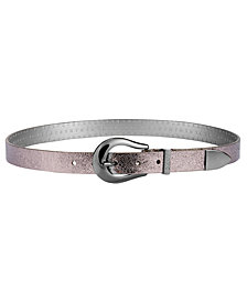 DKNY Metallic Tipped Belt, Created for Macy's