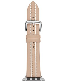 kate spade new york Women's Vachetta Leather Apple Watch® Strap