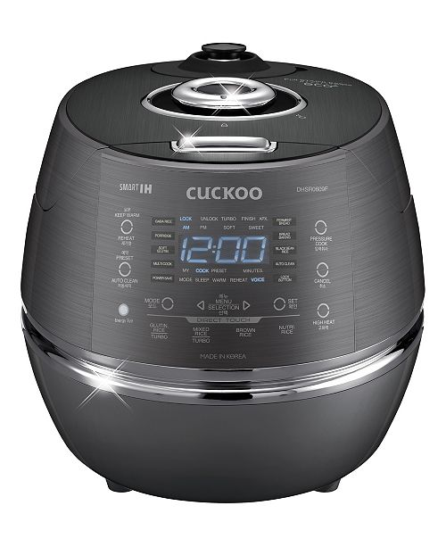 Cuckoo 6-Cup Induction Heating Pressure Rice Cooker