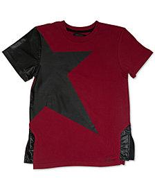 Sean John Big Boys Asymmetrical Star T-Shirt