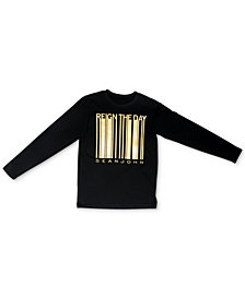 Sean John Big Boys Reign the Day Barcode Shirt