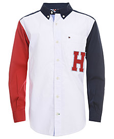 Tommy Hilfiger Toddler Boys Andrew Colorblocked Shirt