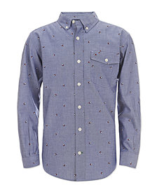 Tommy Hilfiger Big Boys Justin Chambray Shirt