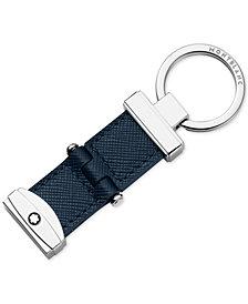Montblanc Sartorial Indigo Leather Keychain
