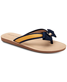 Charter Club Esmaraa Flip-Flop Sandals, Created for Macy's