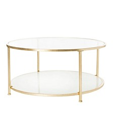 Ivy 2-Tier Round Coffee Table