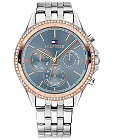 Tommy Hilfiger Women's Stainless Steel Bracelet Watch 38mm, Created for Macy's