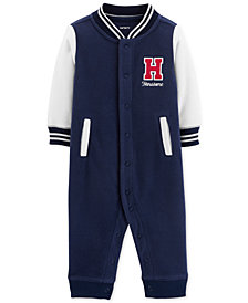 Carter's Baby Boys Varsity Fleece Coverall