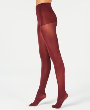 HANES X-Temp Opaque Tights in Pinot Burgandy