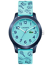 Lacoste Kids 12.12 Blue Silicone Strap Watch 32mm