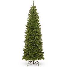 National Tree 7 .5' North Valley Spruce Pencil Slim Tree