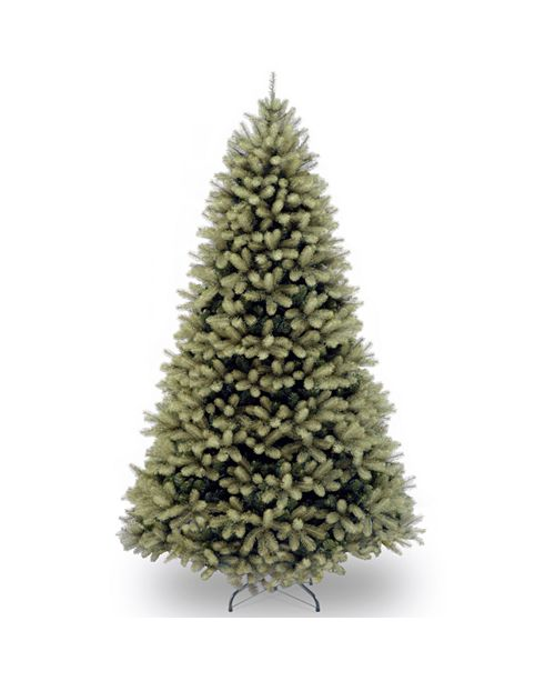 "National Tree Company National Tree 7 .5' ""Feel Real"" Downswept Douglas Fir Hinged Tree"
