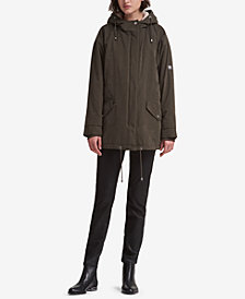 DKNY Hooded Parka, Created for Macy's