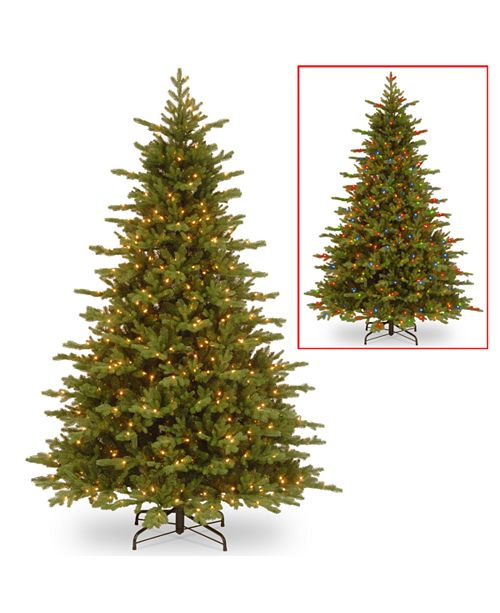 National Tree Company 7 5 Feel Real Vienna Fir Tree With 750 Dual