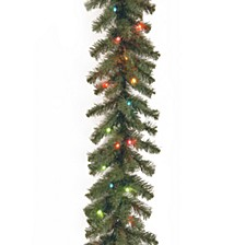 "9' x 10"" Kincaid Spruce Garland with 50 Multi Lights"