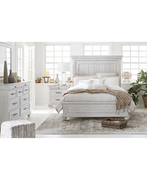 Quincy Bedroom Furniture, 3-Pc. Set (Queen Bed, Nightstand & Dresser),  Created for Macy\'s
