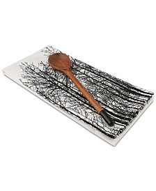 Thirstystone Tree Line Tea Towel and Spoon