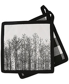 Thirstystone Set of 2 Tree Line Pot Holders