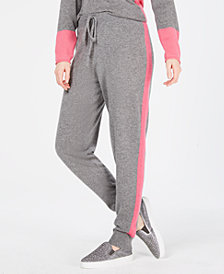 Charter Club Striped Pure Cashmere Jogger Pants, Created for Macy's