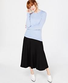 Macy's Pure Cashmere Crew-Neck Sweater