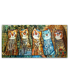 Trademark Global Oxana Ziaka 'Cats of Israel' Canvas Art Print Collection
