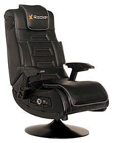 X-Rocker Pro Series Pedestal Wireless Gunstock Arms Chair