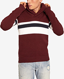 A|X Armani Exchange Men's Shawl-Collar Colorblocked Sweater